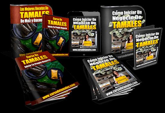 Curso de tamales en video